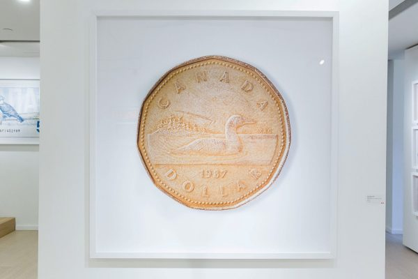 News, Peter Andrew Lusztyk, Taglialatella Galleries, Toronto, Exhibition, Loonie