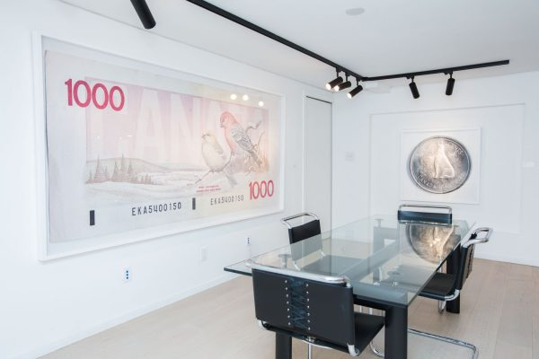 News, Peter Andrew Lusztyk, Taglialatella Galleries, Toronto, Exhibition, Fifty Cents, One Thousand