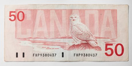 Peter Andrew Lusztyk, Fifty Dollar Bill (Canada)
