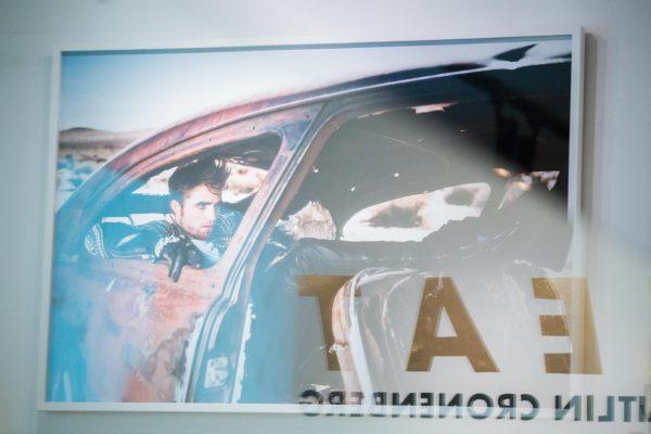News, Caitlin Cronenberg, HEAT, Exhibition, Opening, Taglialatella Galleries, Toronto, Backseat Driver, Robert Pattinson