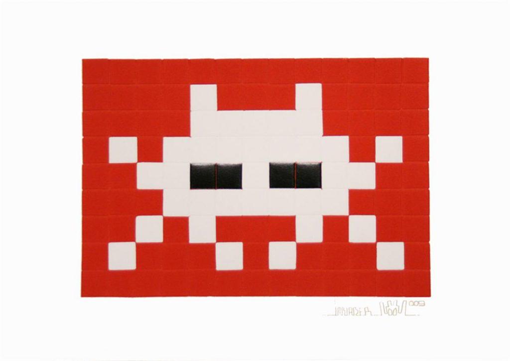 Invader, Invasion (White)