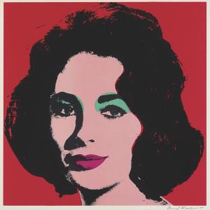 Andy Warhol, Liz (FS.II.7)