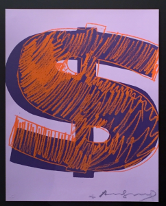 Andy Warhol, Single Dollar $
