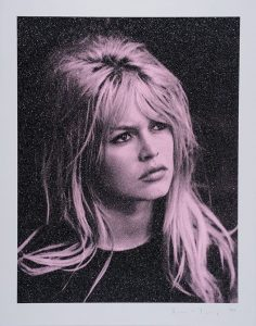 Russell Young, Brigitte Bardot Storm Pink and Black