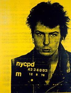 Russell Young, Sid Vicious, Pig Portraits, Yellow and Black