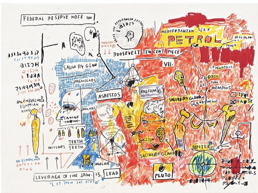 Jean-Michel Basquiat, Liberty