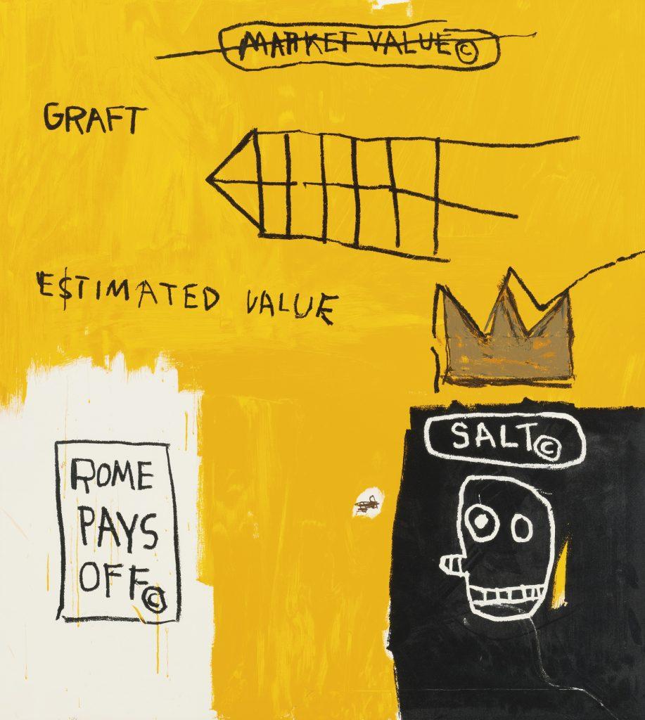 Jean-Michel Basquiat, Rome Pays Off, Set II, 1984-2017