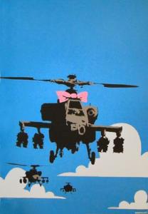 Banksy, Happy Choppers