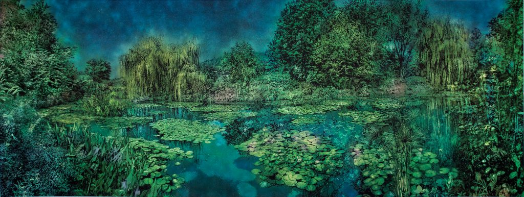 Logan Hicks, Giverny