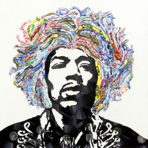 Mr. Brainwash, Jimi Hendrix
