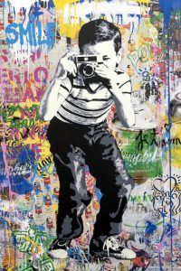 Mr. Brainwash, Smile