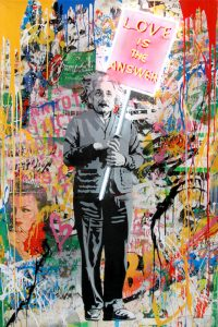 Mr. Brainwash, Einstein