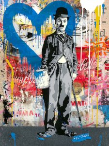 Mr. Brainwash, Chaplin