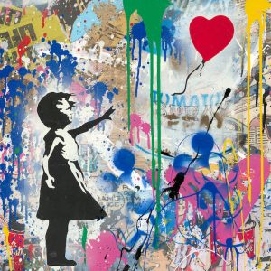 Mr. Brainwash, Balloon Girl