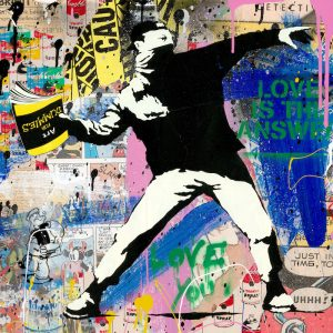 Mr. Brainwash, Banksy Thrower