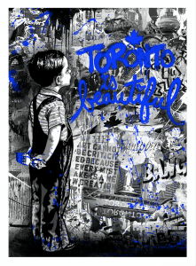 Mr. Brainwash, Toronto Is Beautiful, Blue