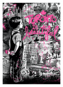 Mr. Brainwash, Toronto Is Beautiful, Pink