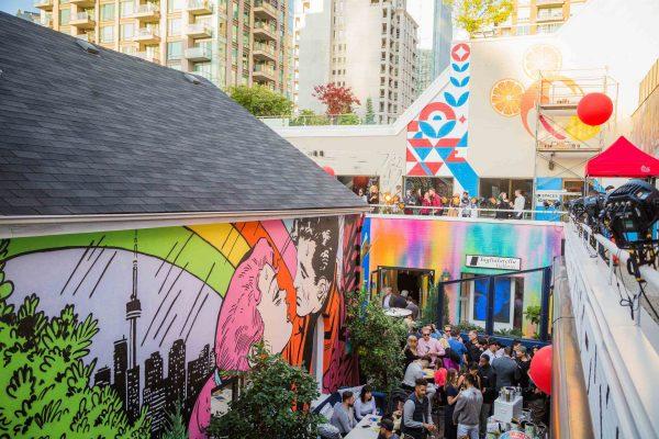 Yorkville Murals, Taglialatella Toronto, Ink Entertainment, TagTO, 2019