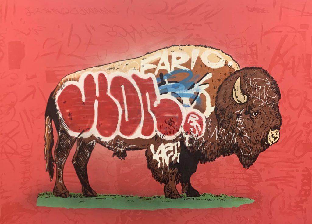 Whatisadam, WIA, Buffalo Graffiti, 2019