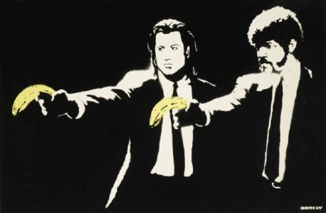 Banksy, Pulp Fiction, 2004