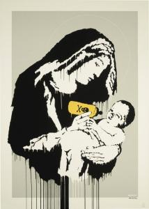 Banksy, Toxic Mary, 2005