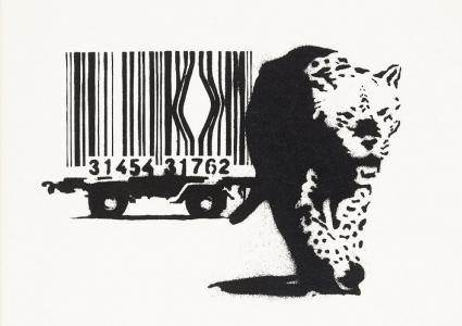 Banksy, Barcode, 2004