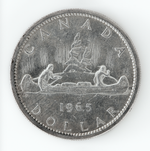 Peter Andrew Lusztyk, Silver Dollar (Canoe), 2020